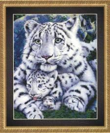 Леопард и Детеныш (Leopardess and Cub)