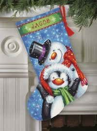 Polar pals stocking