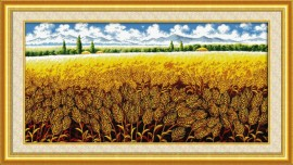 Золотое поле (Golden barley field)