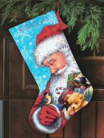 Санта (Santa and Toys Stocking)