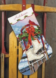 Сапожок Коньки (Ice Skates Stocking)