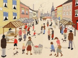 Пятничный рынок (The Friday Market (Lowry Style)